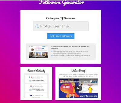 Free Instagram Followers CPA Marketing Primium Landing Page