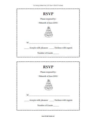 Wedding Rsvp Postcard Templates In 2020 Wedding Response Cards Rsvp Wedding Cards Postcard Template Free