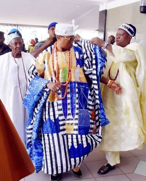 Ok it's official. His Royal Highness Oba Abdulrasheed Adewale ...