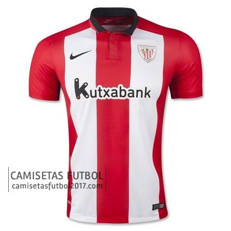 3dc3fbda Primera camiseta de tailandia Athletic Bilbao 2015 2016 | Athletic |  Soccer, Athletic, Bilbao