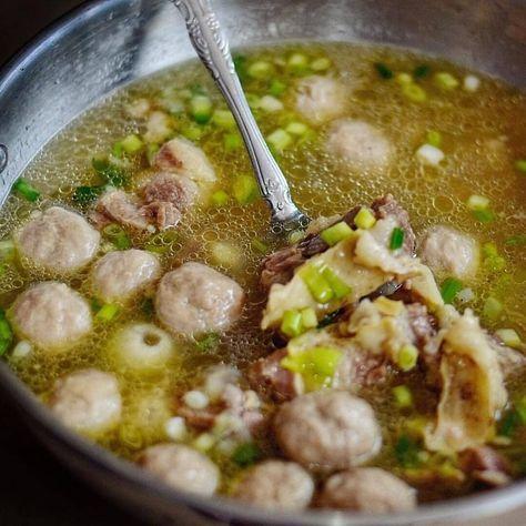 Resep Bakso Goreng Saus Pedas Oleh Dapurvy Resep Resep Makan Malam Resep Daging Sapi