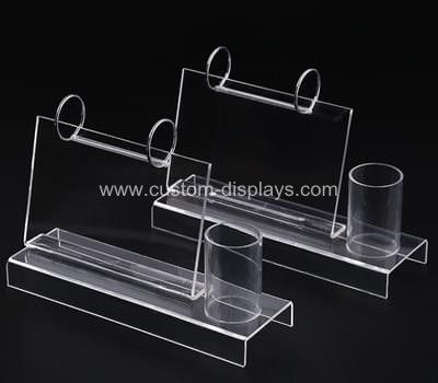 Download Calendar Pen Holder Clear Acrylic Calendar Pen Stand Desk Calendar Stand Pen Holders Acrylic Display Stands