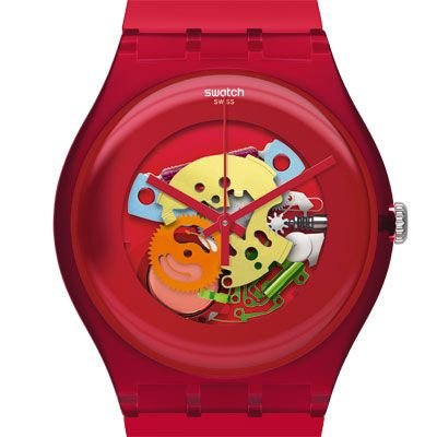 Swatch New Gent Lacquered watch