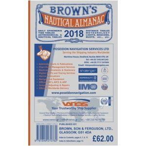Brown S Nautical Almanac 2018
