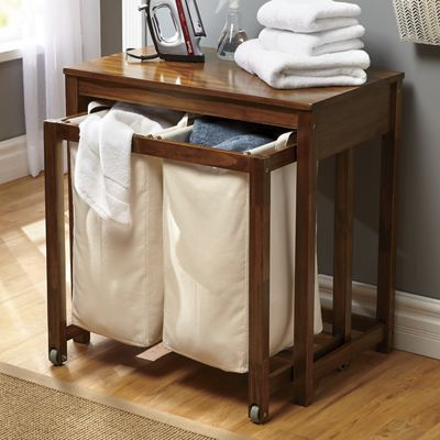 Double Hamper Laundry Table From Ginny S J2757590 Laundry
