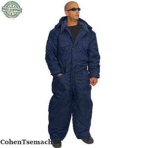 IDF Hagor Hermonit Winter Snowsuit Clothing Ski Snow Cold Coverall Black