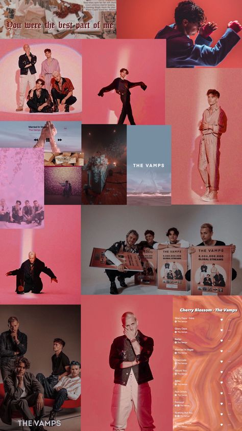 The Vamps wallpaper by @mariduquedits