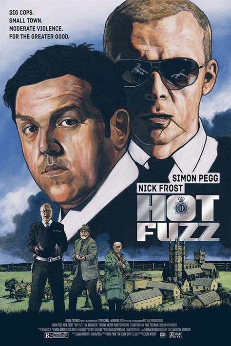 Hot Fuzz 2007 Hd Wallpaper From Gallsourcecom Best