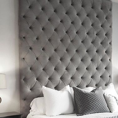 Deep Tufted Wall Panel Upholstered Walls Upholstered Wall