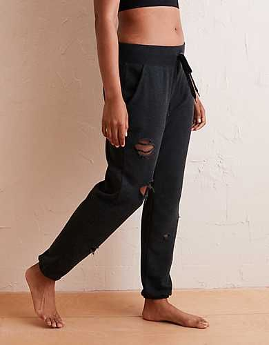 Aerie Destroyed City Jogger Christmas 19 In 2019 Mens