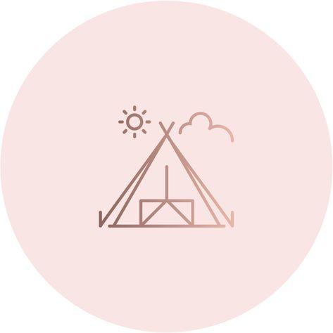 Иконки вечных сториз для аккаунта Инстаграм, хайлайтс, актуальное, закрепленные сторис, пиктограммы, профиль, страница, блог, блогер, блоггер, заставка, кемпинг, горы, отдых