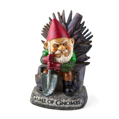 Bigmouth Inc Game Of Gnomes Nain De Jardin Amazon Fr Jardin