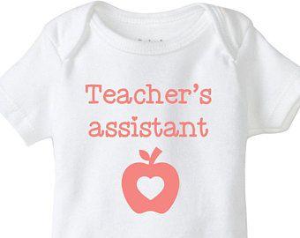 My mummy knows best she/'s a teacher funny teaching Unisex Baby Grow Bodysuit
