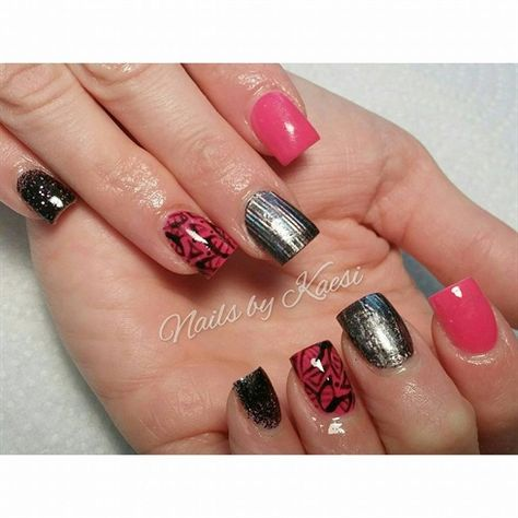 Titanium by nailsbykaesi - Nail Art Gallery nailartgallery.nailsmag.com by Nails Magazine www.nailsmag.com #nailart #Acrylic #nails #boise #nampa #CALDWELL #meridian #Kuna #IDAHO #EZFlow #nailtech #Acrylicnails #nailartist #Swarovski