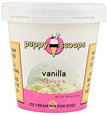 buy good classic styles great fit Amazon.com : Puppy Scoops Ice Cream Mix for Dogs: Vanilla ...