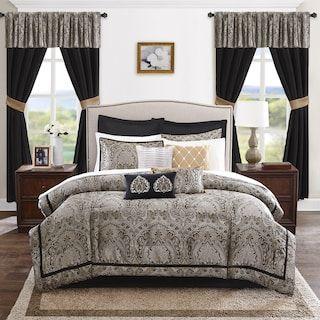 Madison Park Essentials Christine 24 Piece Bedding Set Kohls Cheap Bedding Sets Room In A Bag King Bedding Sets