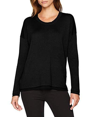 Sisley Womens Sweater L//S Jumper