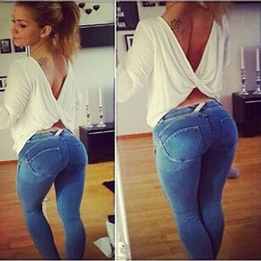 New Fashion Stretchy Pants Skinny Trousers Leggings Bodycon Carry Buttock Pants