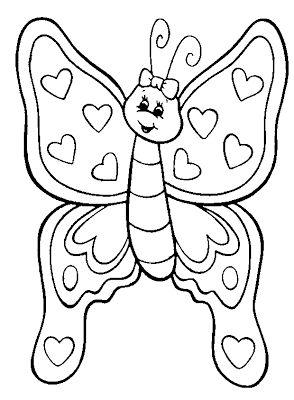 Mariposas Para Colorear Para Imprimir Y Gifs Animados Mariposas