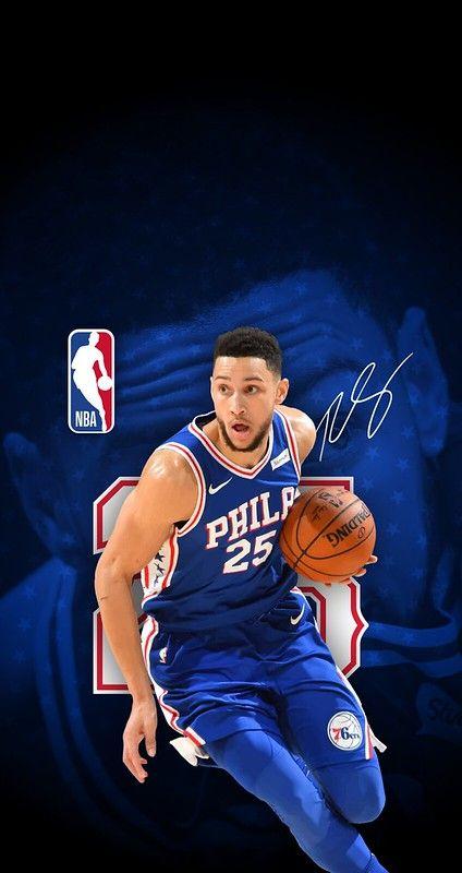 25 Ben Simmons Philadelphia 76ers Iphone 6 7 8 Wallpaper Ben Simmons Philadelphia 76ers Ben Simmons 76ers
