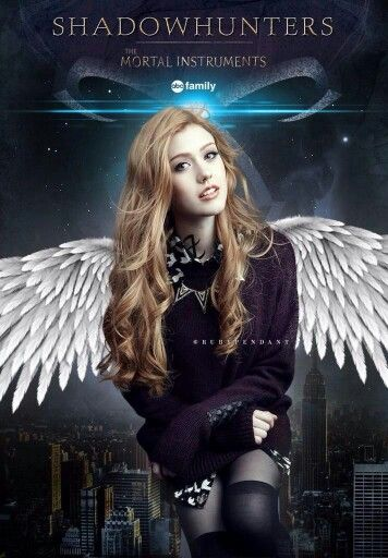 Shadowhunters TV show #FanMade by @rubypendant. A W E S O M E !! CLARY ♡