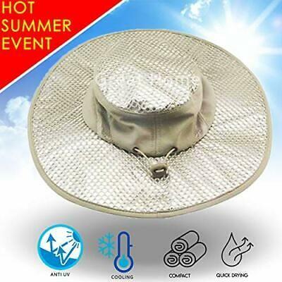 Arctic Evaporative Cooling Sunscreen Hat Men Heatstroke Protection