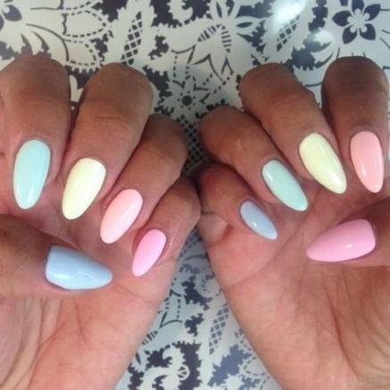 New Nails Pastel Gelb 15 Ideas Gel Nail Designs Gel Nails Pointed Nails