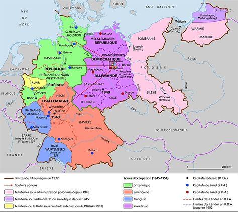 L Allemagne Au Lendemain De La Seconde Guerre Mondiale Allemagne