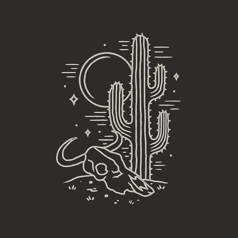 ideas for nature design illustration drawings Cactus Drawing, Cactus Painting, Cactus Tattoo, Frida Art, Art Inspo, Line Art, Art Drawings, Tattoo Drawings, Cool Art