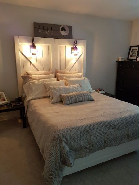 20 Rustic Headboard Ideas To Give Your Bed A Boost Wanda Olesin