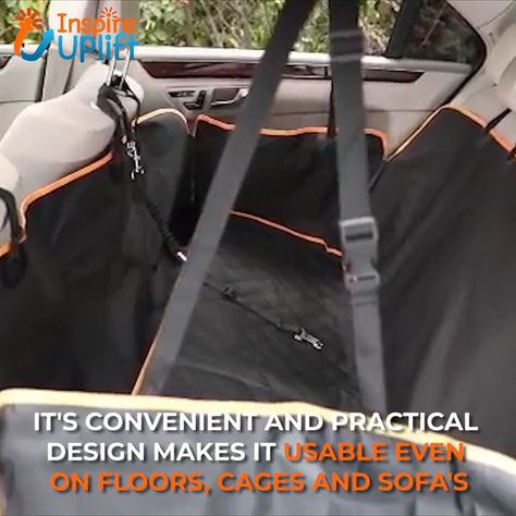 Waterproof Dog Hammock Car Seat Cover 😍  Protect your car's back seat from dirt, hair, scratches, slobber and muddy paws with this Waterproof Dog Hammock Car Seat Cover. Comes in different colors and patterns. Ideal for short-trips to the vet, visits to the dog park, or for long road trips and camping. 100% Waterproof and easy to clean!  Currently 50% OFF with FREE Shipping!