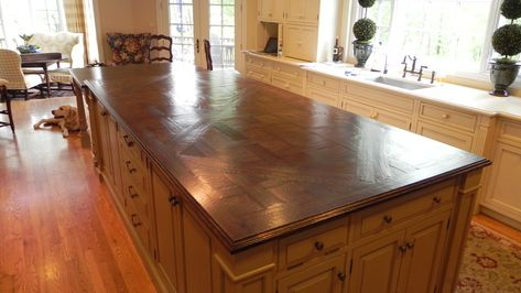 Countertops Rustic Kitchen Kitchen Flooring Hardwood Floors In