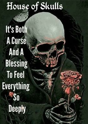 Image Uploaded By Andrea Find Images And Videos On We Heart It The App To Get Lost In What You Love Skull Quote Warrior Quotes Skull