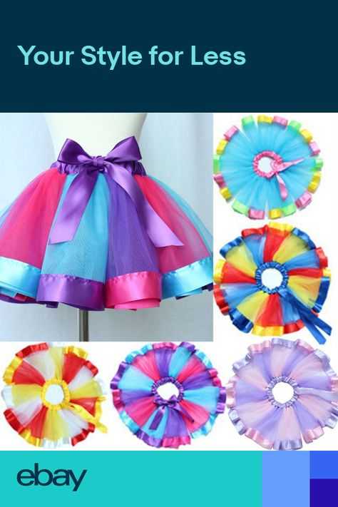 a581ec934 Toddlers Infant Kids Baby Girls Pettiskirt Tutu Skirt Dress Party Dance  Clothes