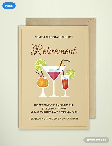 Free Printable Retirement Party Invitation Printable Party