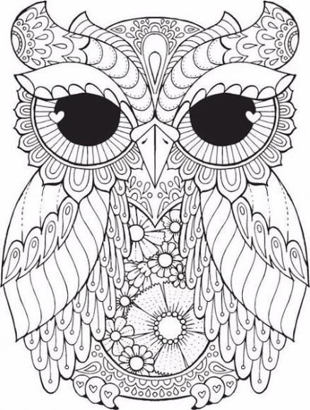 65 Trendy Ideas Painting Disney Colour Painting Owl Coloring Pages Coloring Pages Adult Coloring Pages