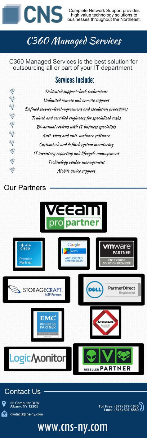 We are one of the leading computer network management companies in