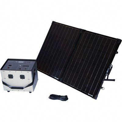 Humless Complete Solar Power System With Solar Generator 3000 Surge Watts 1500 Rated Watts Model 1500 Solar Panels Solar Energy Panels Solar Power System
