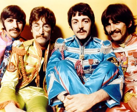 This is one of my favourite albums. I spent the majority of my childhood listening to and singing a long to this album in my dads car!  The Beatles - Sgt Peppers