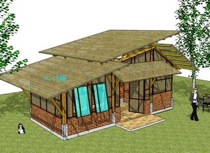 small bamboo house | bamboo house | Pinterest | Bamboo house ...