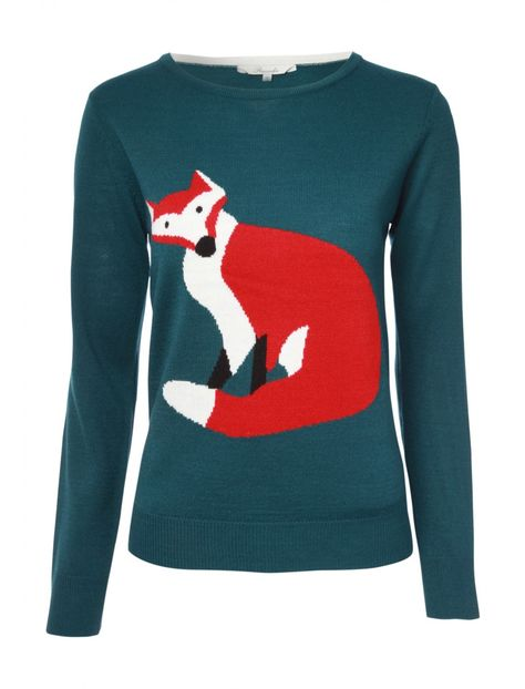 5524904dd7c Womens Feature Fox Jumper | {my style} | Pinterest | Jumper, Foxes ...