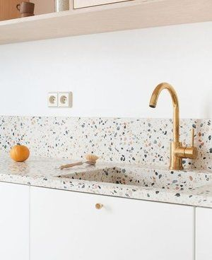 Vernazza Naturali Stone Terrazzo Kitchen Backsplash Trends Interior Design Kitchen