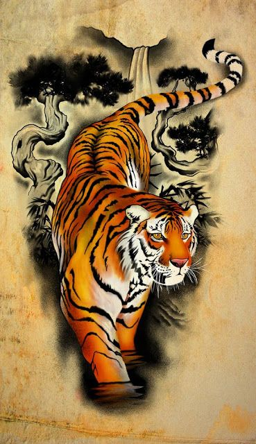 Animal Wallpaper For Android Mobile Iphone Tiger Tattoo Design Tiger Tattoo Sleeve Tiger Tattoo