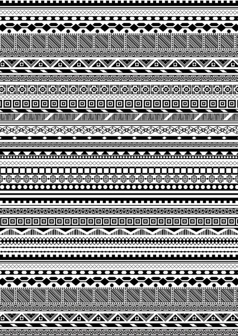 Patterns To Draw Easy Aztec