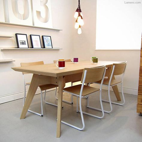 Span Dining Table by Gus Modern at Lumens.com