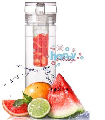 Amazon.com: Infuser Water Bottle 27 Ounce - Made of durable Eastman TritanTM - Create Your Own Flavored Water, Naturally, with Ingredients Y...