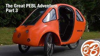 Car Vs Bicycle Organic Transit Elf 2fr Velomobile Passenger E Bike Youtube Bike Ebike Car