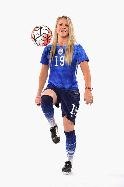 Soccer Player Julie Johnston Poses For A Portrait At The Usoc Rio