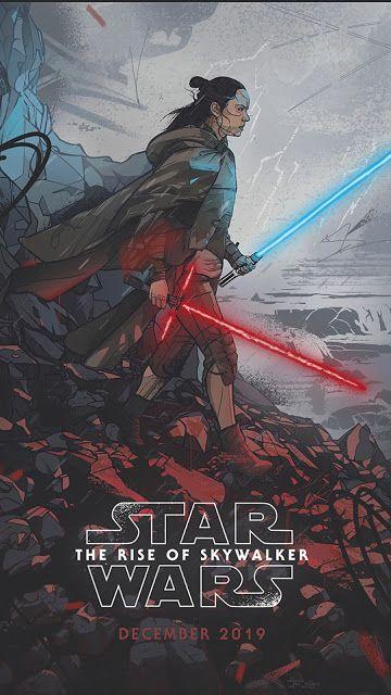 Rise Of Skywalker Poster Star Wars Characters Rey Star Wars Star Wars Wallpaper
