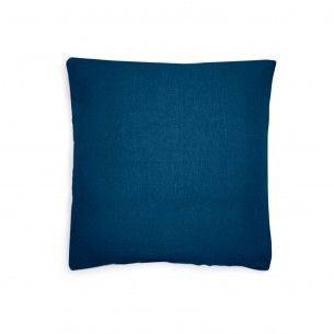 80x80 Kissenbezug Blau Throw Pillows Pillows Design